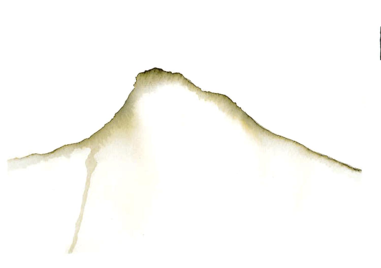 Pico Mountain  #watercolour #picoisland