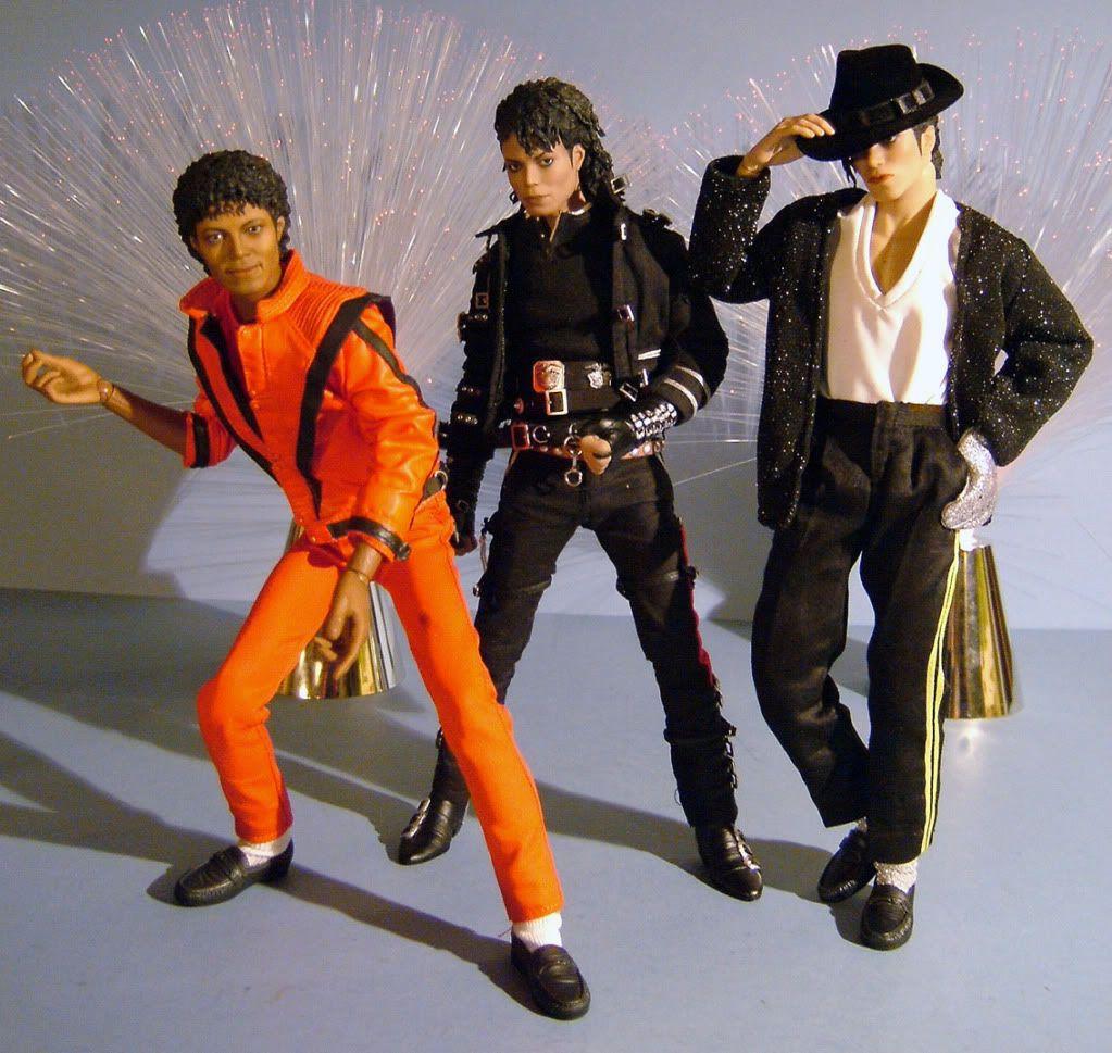 Michael jackson hot toys michael jackson dolls and for Jackson toys