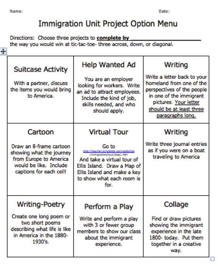 Image result for instructions for I Am poem on tic tac toe Ed - sample tic tac toe template