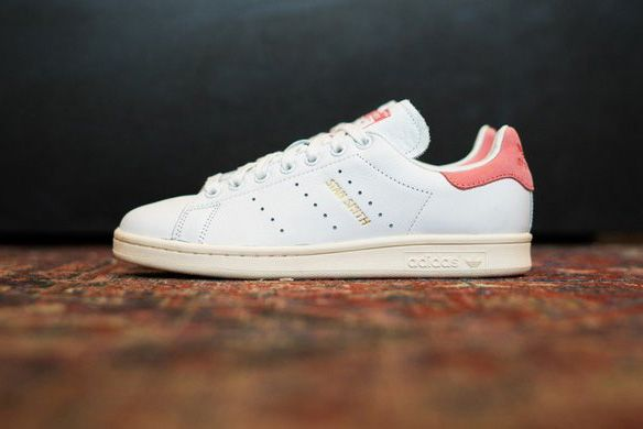 adidas originali di stan smith s80024 uomini e donne ray rosa bianca