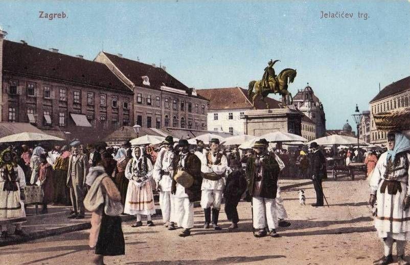 Jelacicev Trg Zagreb Old Photos Photo