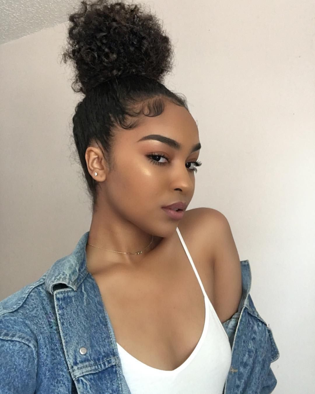 Pin by nini on makeup pinterest baddies hair laid and makeup goals