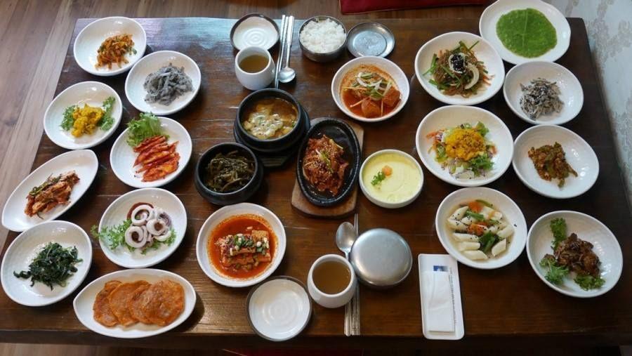 Korean dish table  한정식    #한정식 #Korea #Koreanfood #cuisine #traditional #Asia #southkorea #KoreanBeauty