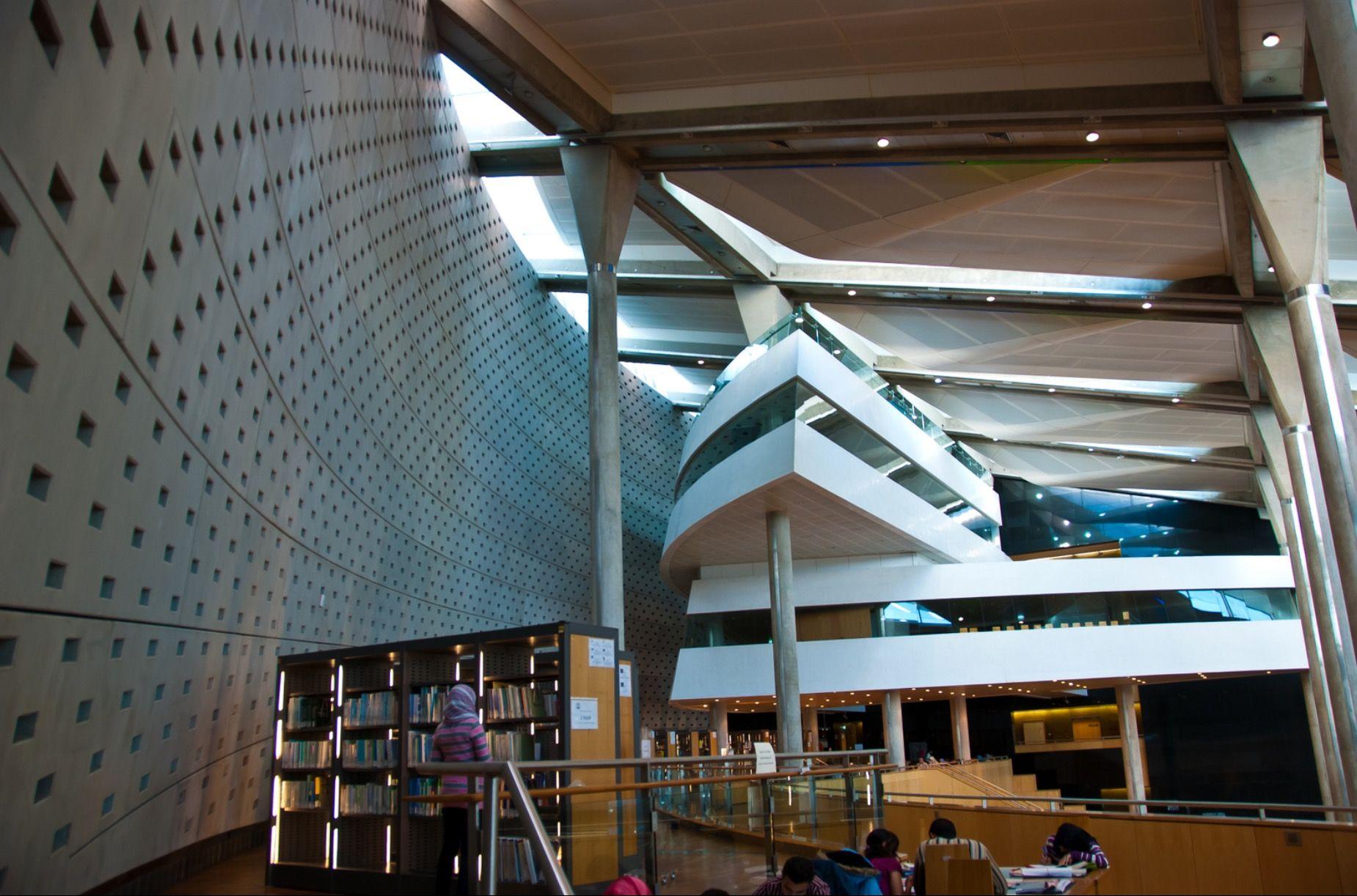 Bibliotheca alexandrina egypt places interior alexandria egypt indoor interieur