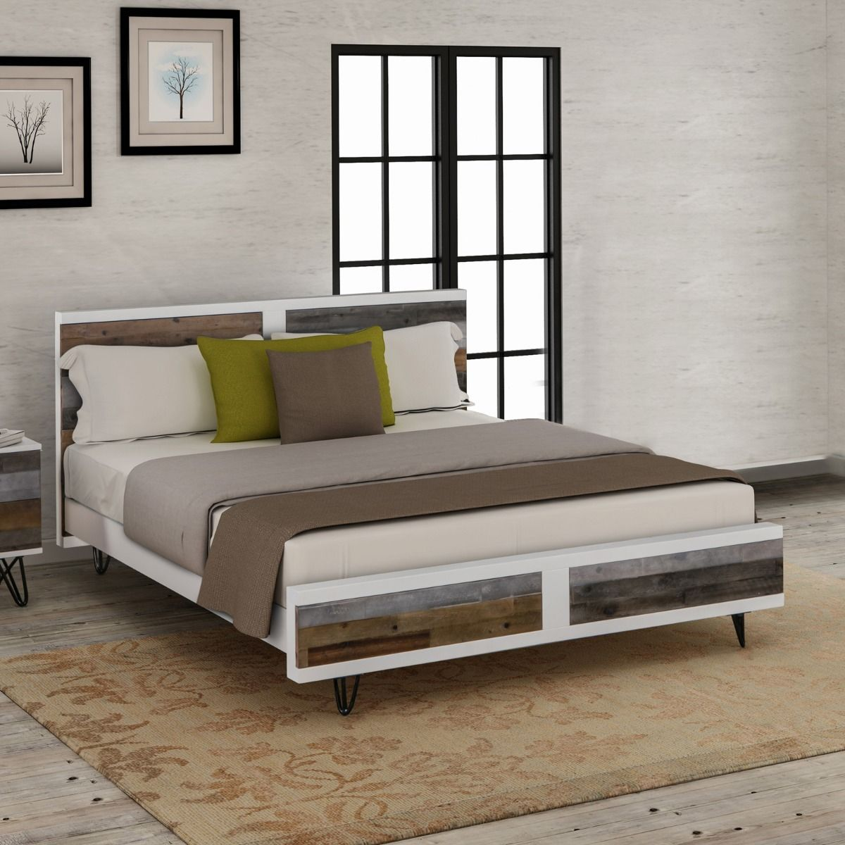 Shelby Bedroom Furniture Timber Bed Frame Queen Bed Timber Bed