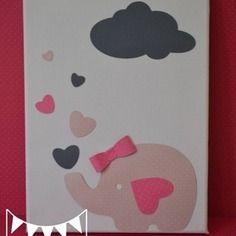 Super Promo 50 Melle Coeur Tableau Illustration Enfant Cadre