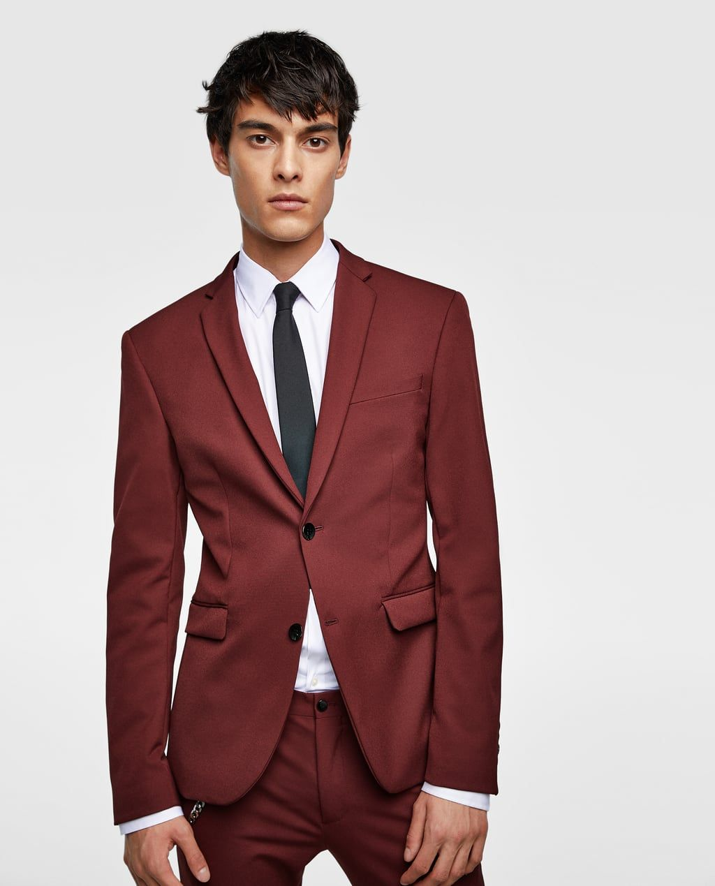 2f94937a36 Image 1 of SUPER SKINNY SUIT BLAZER from Zara | Men's Style Fashion ...