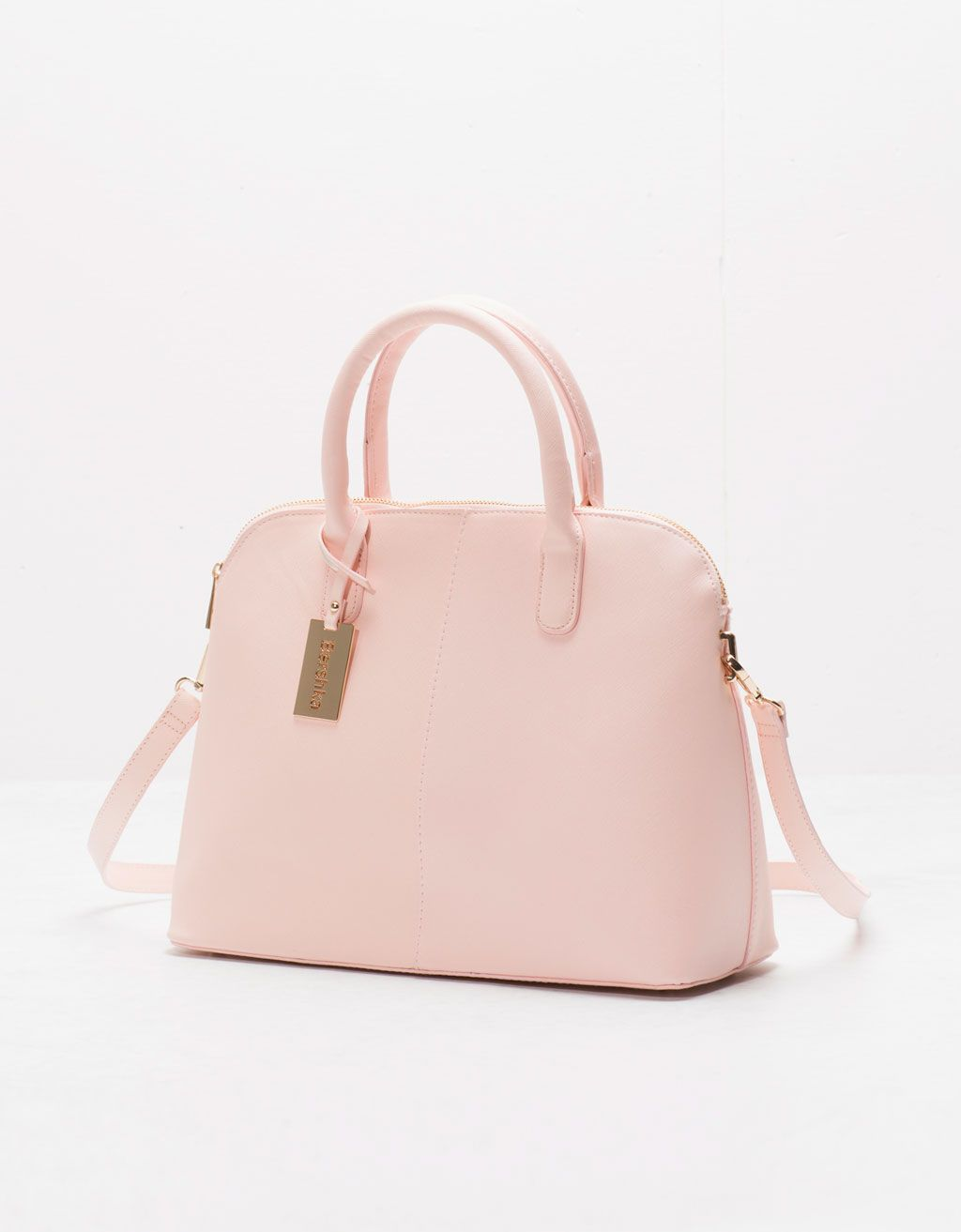 e40ad9125750 Saffiano lady bag - Bags - Bershka United Kingdom