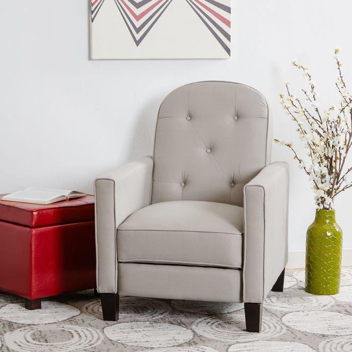 Zipcode™ Design Tufted Recliner   Contemporary recliners ...