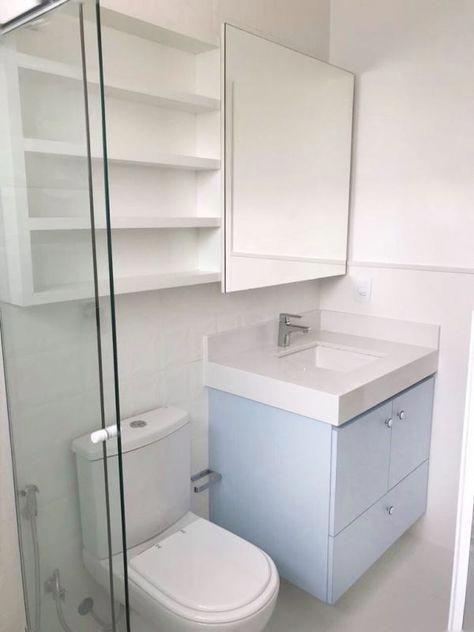 Reforma Residencia P Rbc Banheiro Pequeno Decoracao Banheiro
