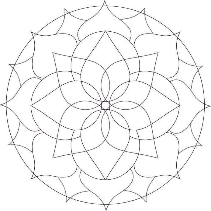 Free Coloring Pages Designs  Az Coloring Pages  A Emb Mandalas