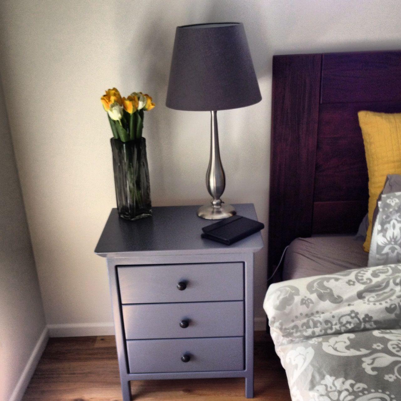 Refinished nightstand diy pinterest refinished nightstand