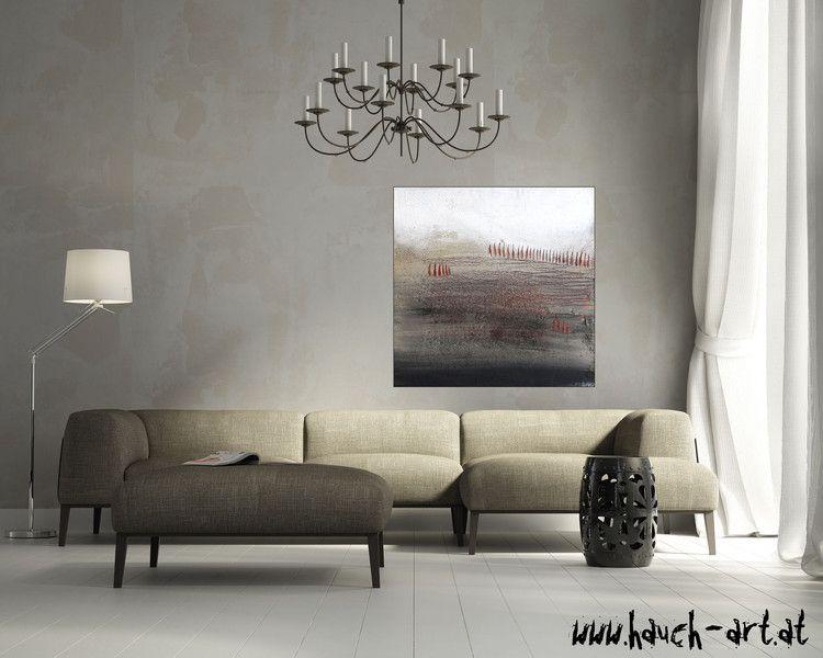 Acrylbild Tosk abstrakt handgemalt original Kunst - wohnzimmer bilder abstrakt