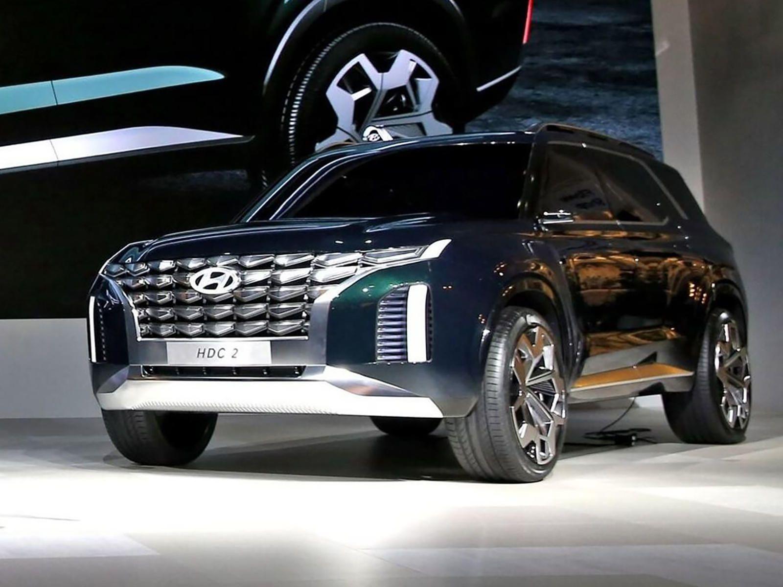 Is Hyundai Preparing A Rugged Suv To Rival The Toyota Land Cruiser Hyundai Tucson New Upcoming Cars Hyundai