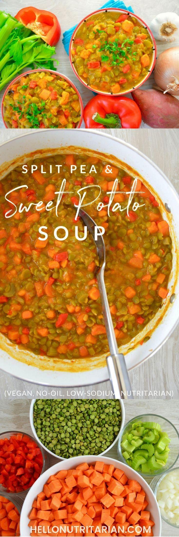 to Live Split Pea  Sweet Potato Soup  Hello Nutritarian  Eat to Live Split Pea  Sweet Potato Soup  Hello Nutritarian   Spinach and mushroom quinoa sauteed in garlic and o...