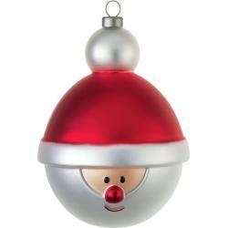 Photo of Palla albero di Natale Babbonatale Alessi