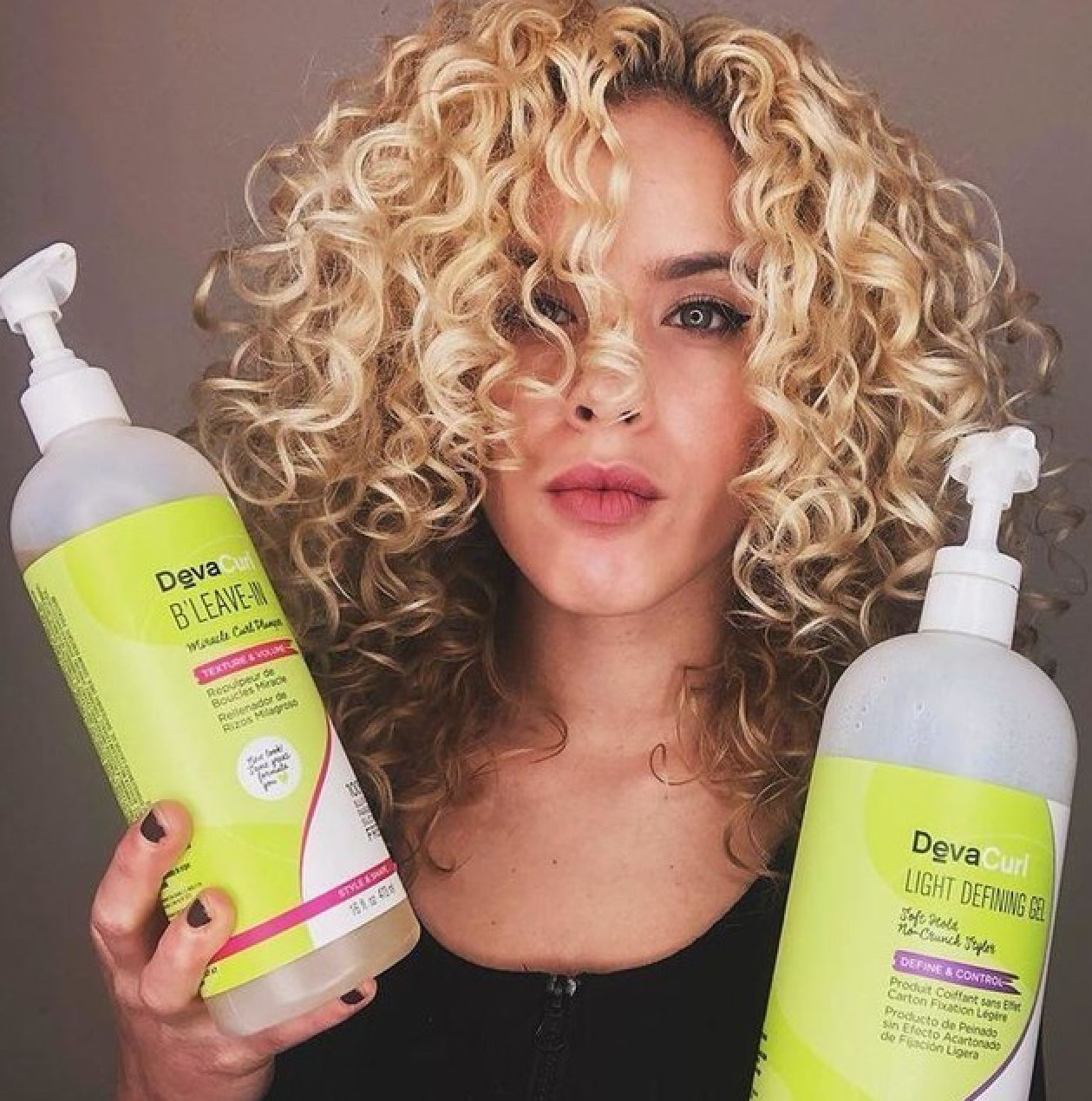 Devacurl Products Are Amazing Got To Try Light Defining Gel And B