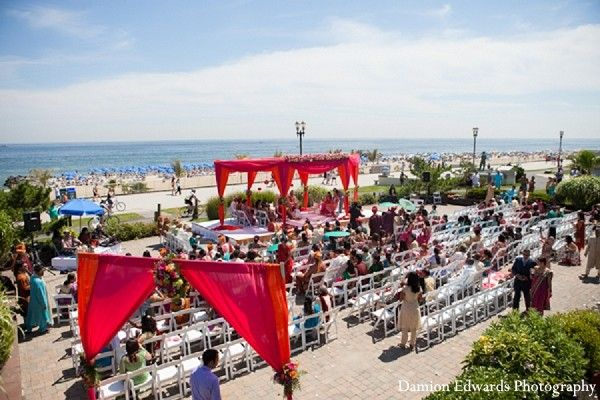Venues In Long Branch NJ Indian Wedding By Damion Edwards Photography