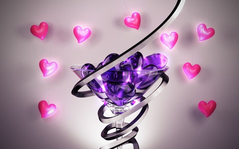 Download Free Heart Glass Hd Wallpapers Full Hd Love Wallpaper Hd Love Love Wallpaper