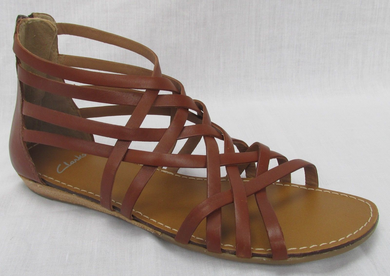 clarks cushion soft sandals