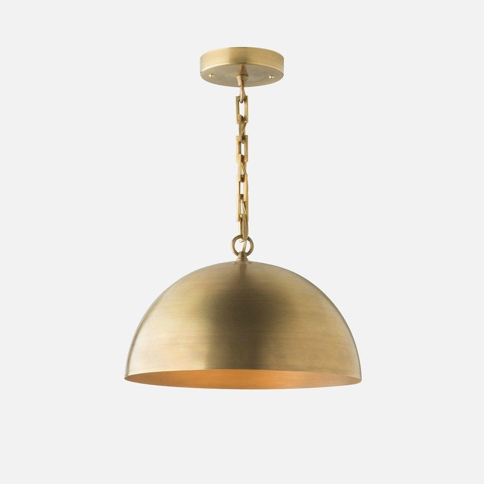 Royce chain pendant schoolhouse electric pendants and lights