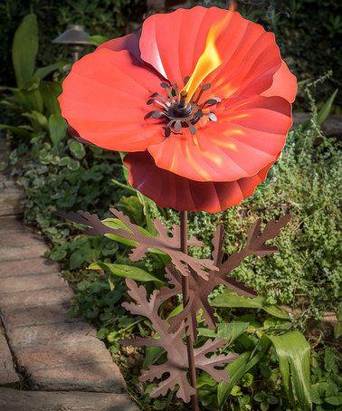 Another Great Find On Zulily Poppy Garden Torch