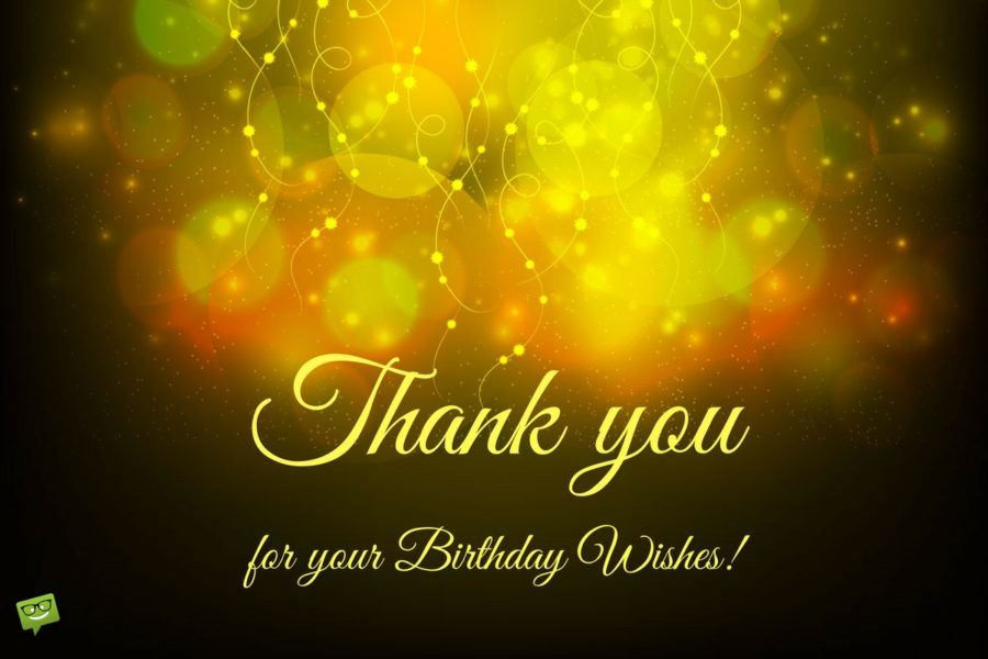Birthday Thank You Sentiments Birthdays Happy Birthday And Thoughts