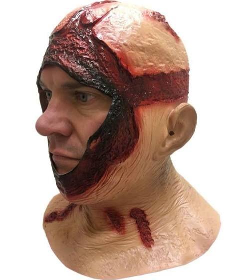 Jason Voorhees Face Without Mask Autumn Halloweenthanksgiving
