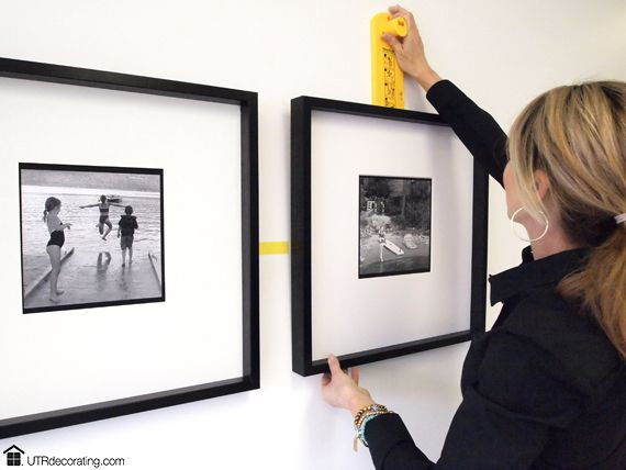 Decorate your walls with black and white photos | Hanging frames ...