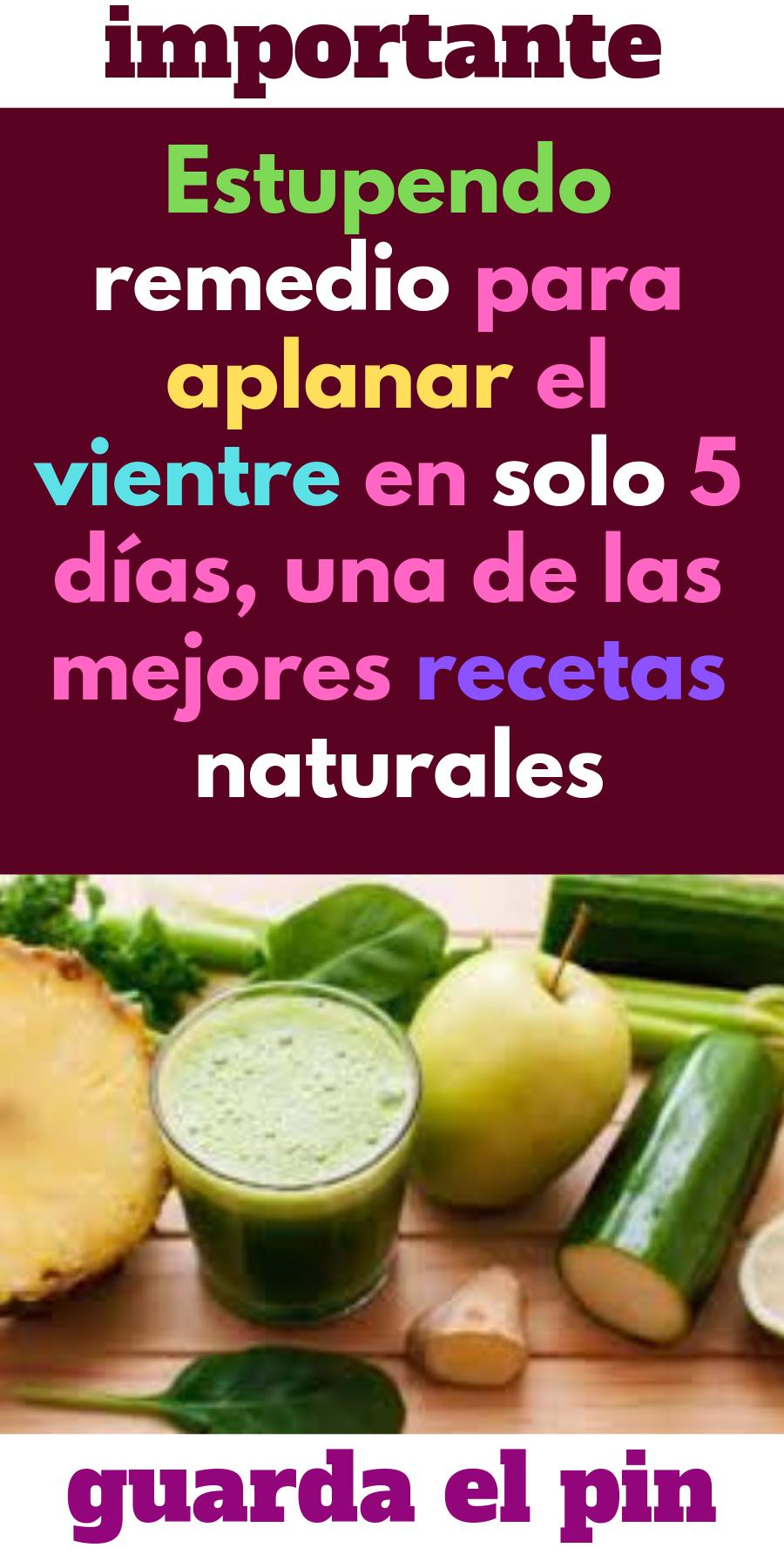 Dieta detox 5 dias receta