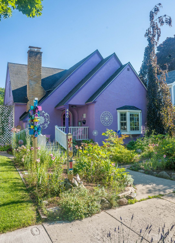 purple house in traverse city michigan photo 12x18 by on wall street journal login id=81095