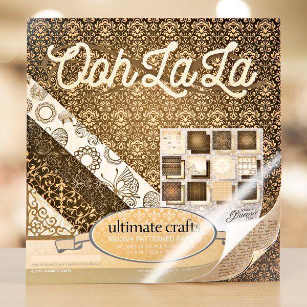 Ultimate Crafts Ooh La La Collection 1 (149802)   Create and Craft