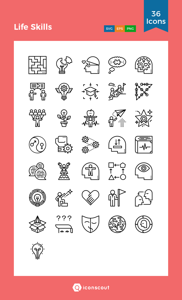 Download Life Skills Icon Pack Available In Svg Png Eps Ai Icon Fonts Life Skills Icon Line Icon