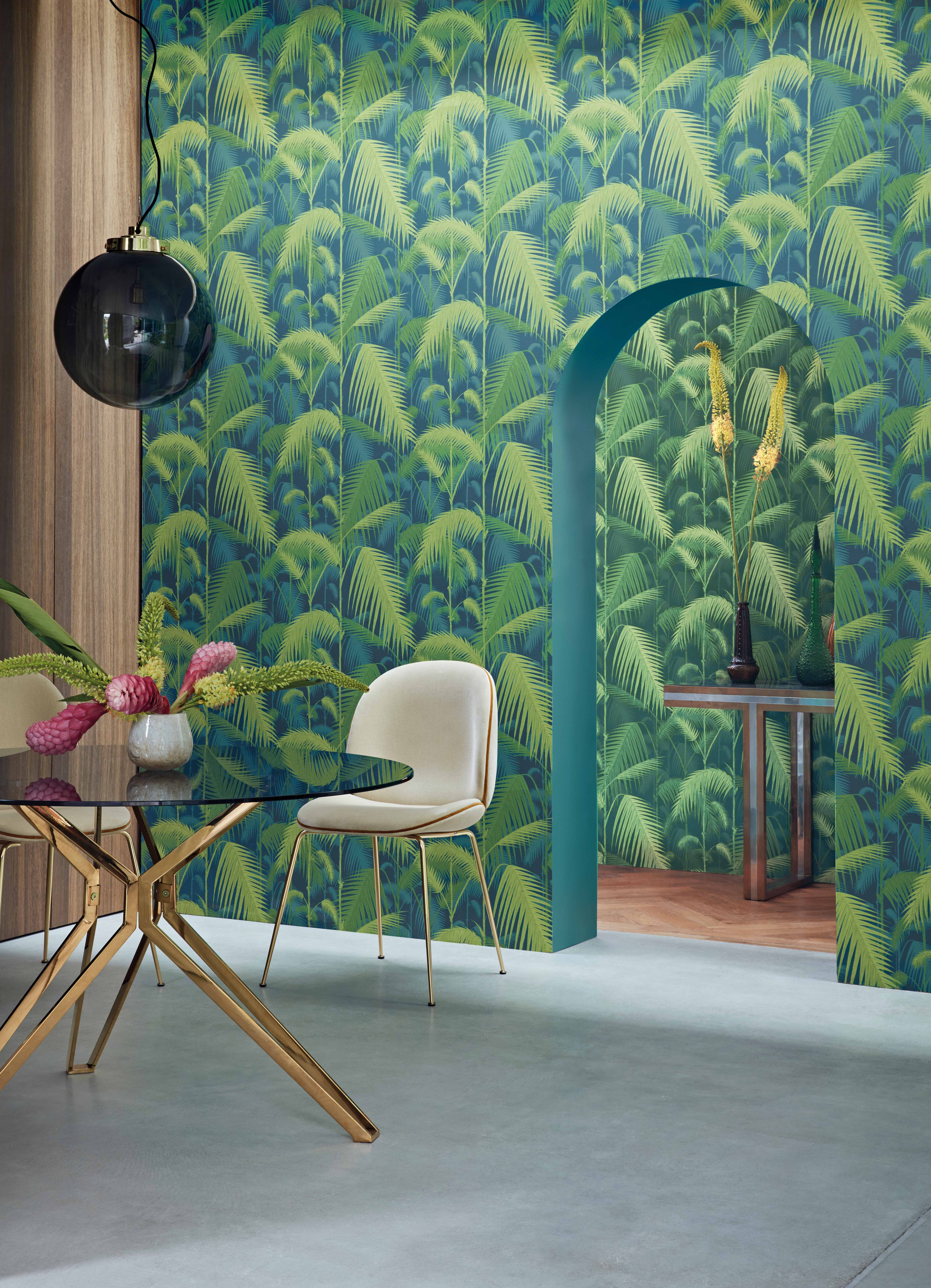 Cole & Son Palm Jungle Wallpaper - Designer Wallpapers 2017