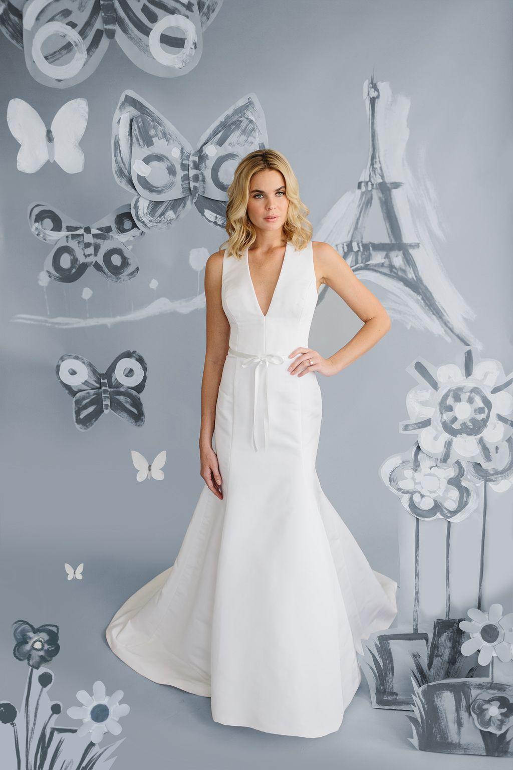 Kate Mcdonald Bridal Amelie Wedding Dress Le Papillon Collection 2018 Modern Bridal Gowns Minimalist Wedding Dresses Lulakate Bridesmaid Dresses [ 1536 x 1024 Pixel ]