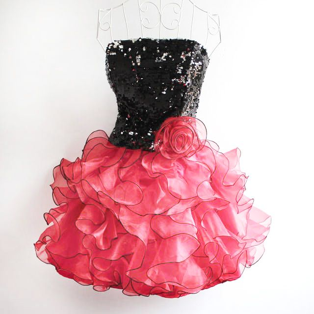 short fluffy prom dresses Reviews - review about short fluffy prom ...