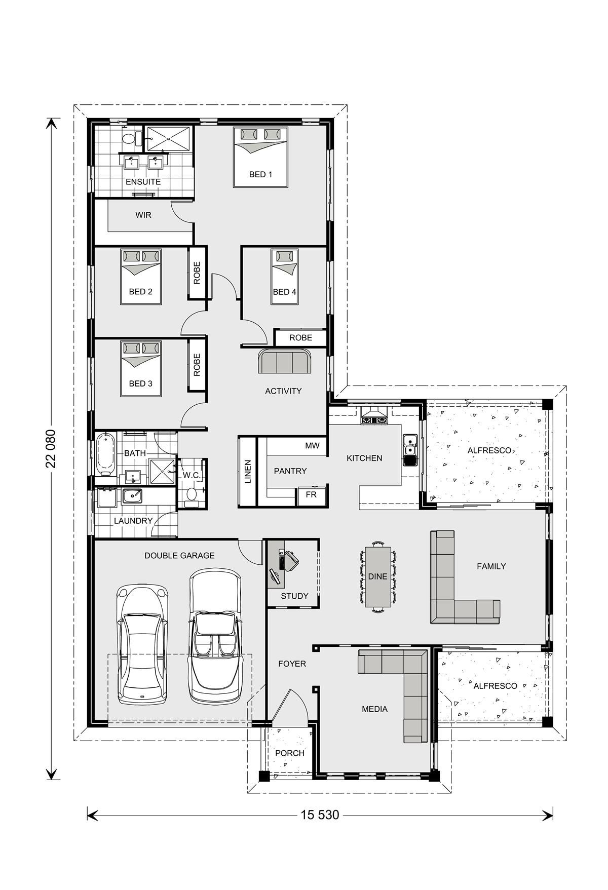 Gj gardner floor plans floor matttroy for Gardner floor plans