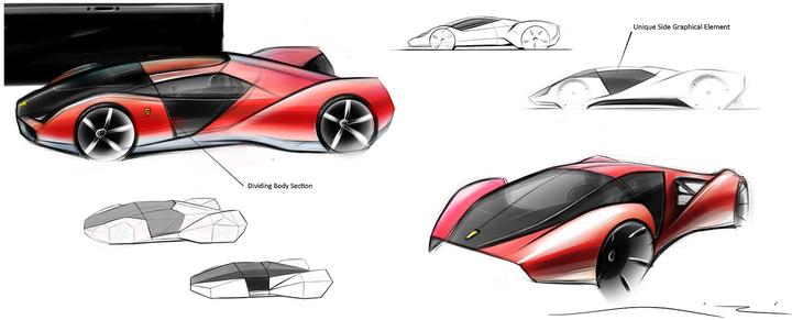 Ferrari F80, l'hypercar de 2020
