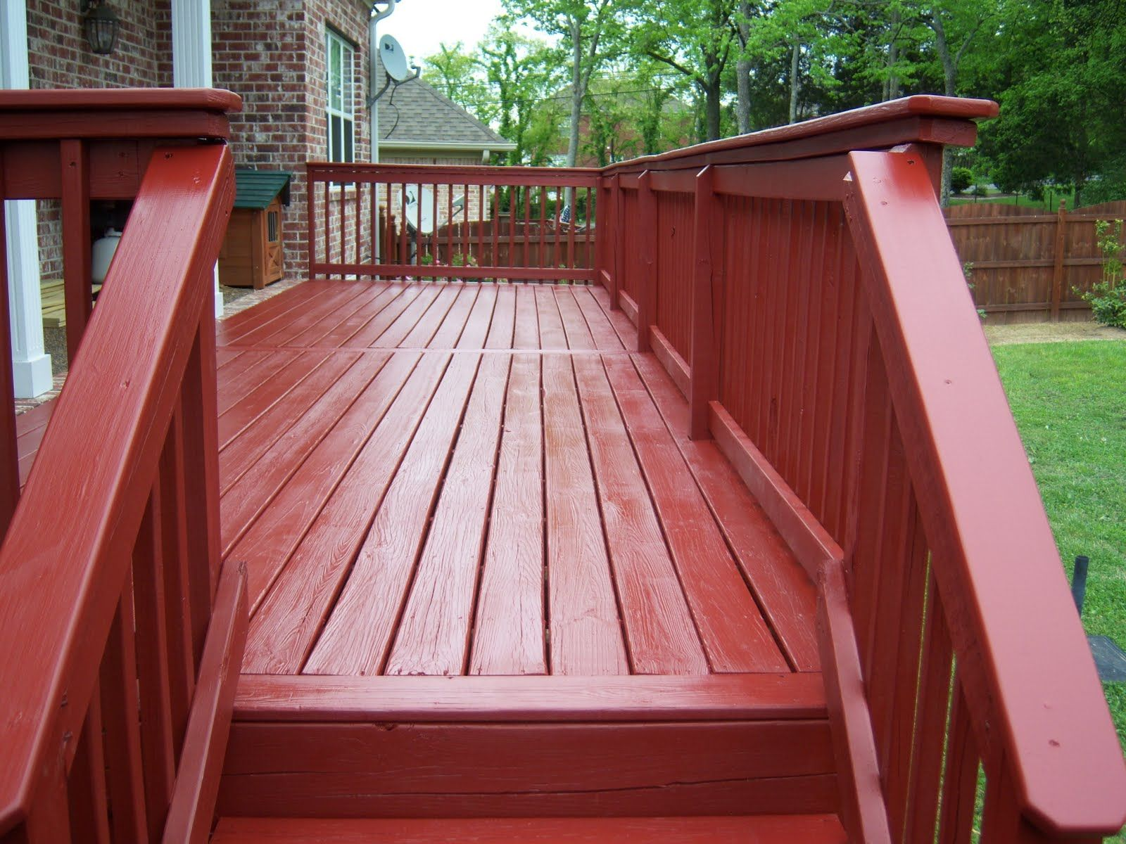 Fine Finishes Outdoor Decor Outdoor Deck