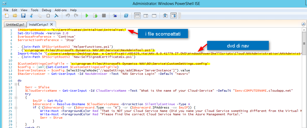 Powershell Script To Create A Self Signed Certificate That Works