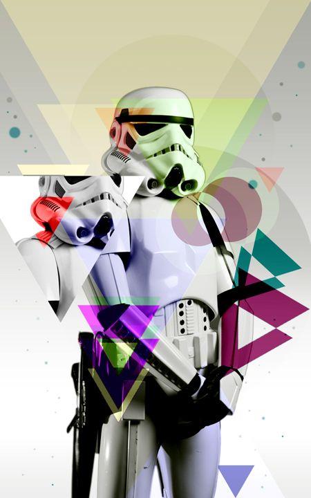 Stormtrooper #StarWars #Art