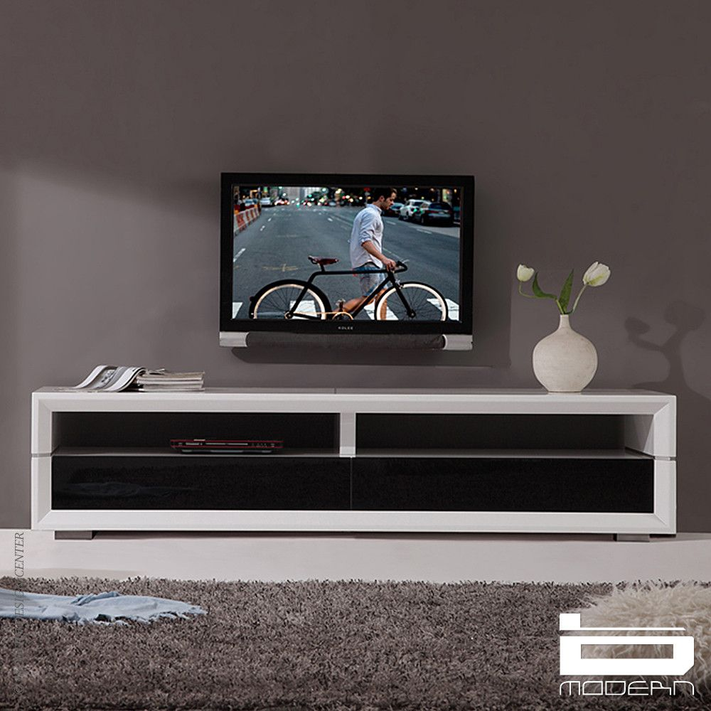 B Modern Executive Remix White Tv Stand Тумба под тв
