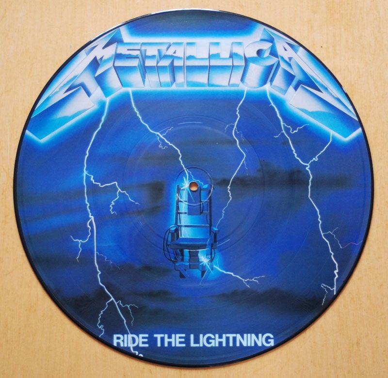 Metallica Ride The Lighting Vinyl Picture Disc Metal