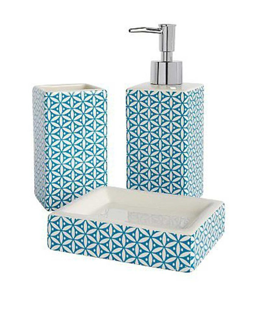 Moroccan Style Bathroom Accessories Teal Bathroom Blue Bathroom Accessories Teal Bathroom Accessories