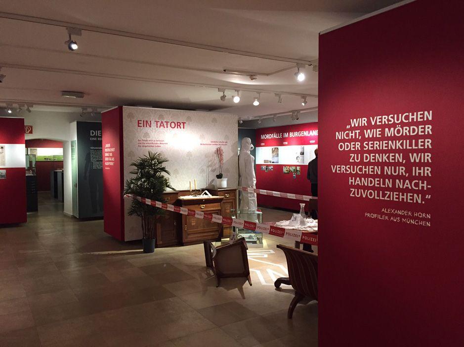 RABOLD UND CO. : Ausstellung Tatort Burgenland
