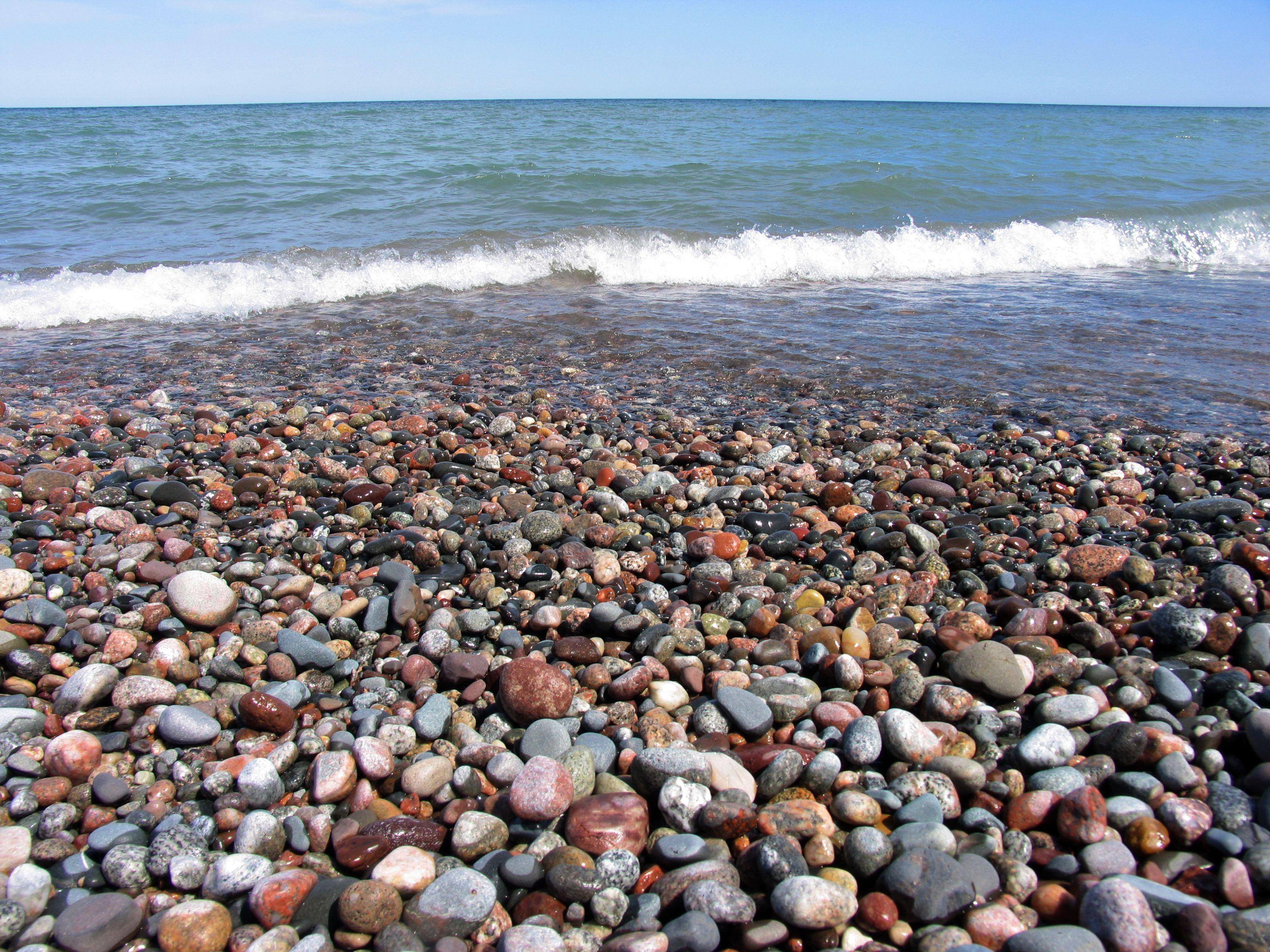 Lake Superior Agate Beach Michigan