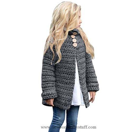 ea0649966c59 Baby Girl Clothes Sunbona Toddler Baby Girls Cute Autumn Button ...