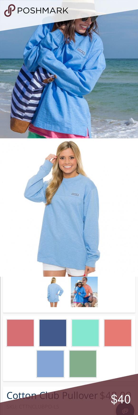Southern Shirt Cotton Club Pullover | Cotton club, Pullover and ...