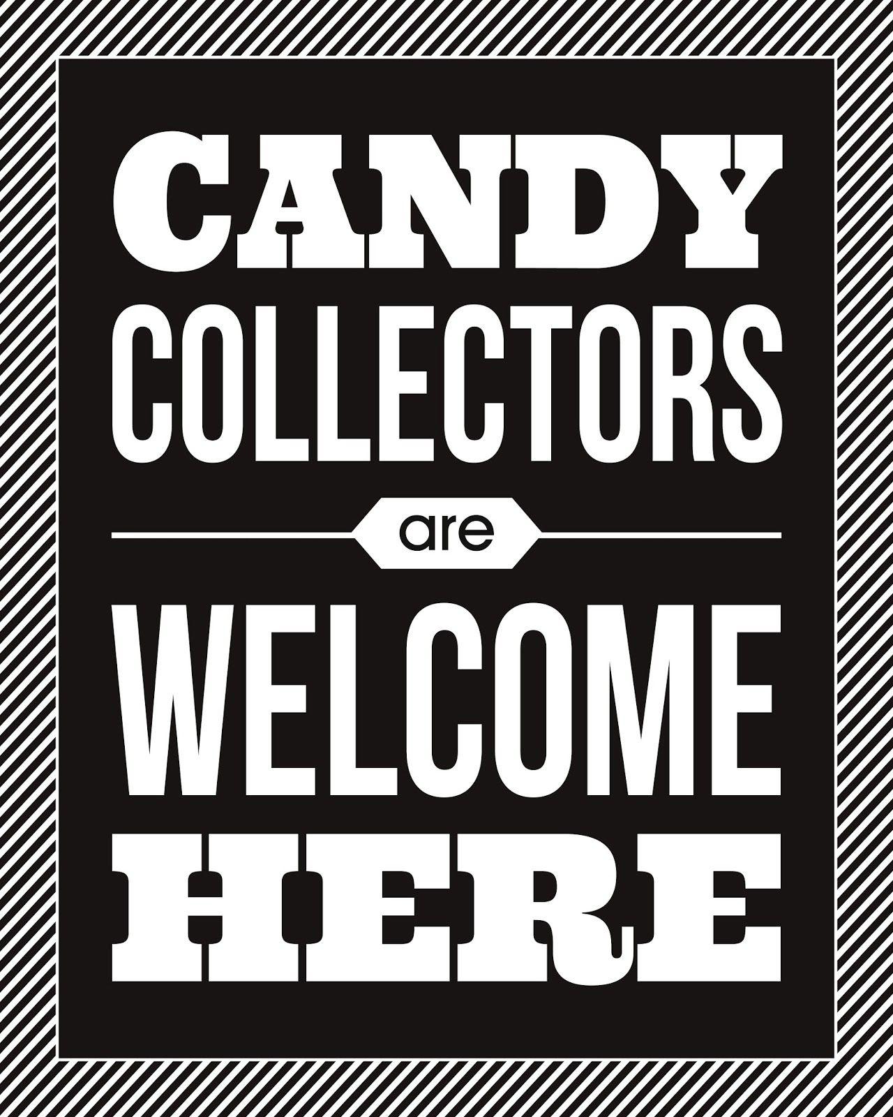 Candy Collectors Halloween Print Halloween prints