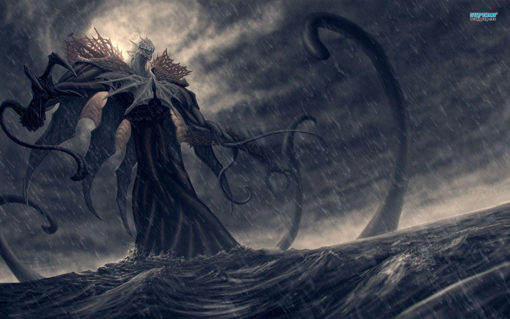 Giant Monster Wallpaper For Iphone Monster Pictures Ocean